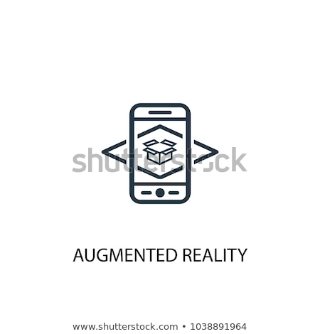 Stock photo: Augmented reality vector illustration.