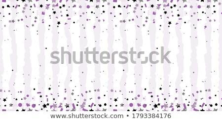 Ultra violet halftone circles seamless pattern. Vector illustration  Stock photo © gladiolus