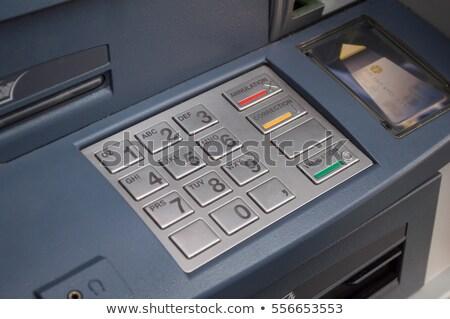 Cash machine keypad Stock photo © IS2