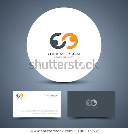 handshake abstract logo vector design template stock photo © sidmay