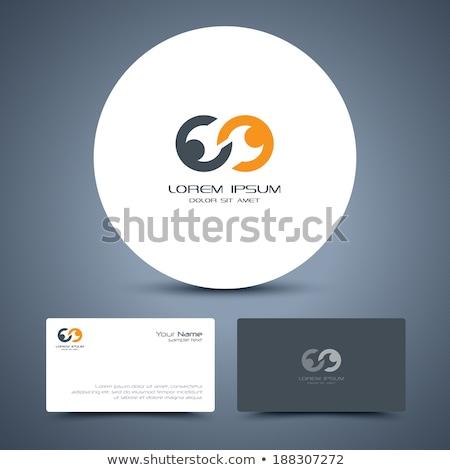 vector · empresarial · éxito · logo · resumen · humanos - foto stock © sidmay