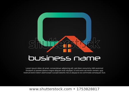 house logo with letter q sign logo template stock photo © taufik_al_amin