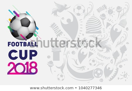 Football championnat tasse football sport illustration Photo stock © vectomart