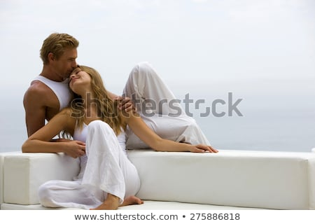 Couple being affectionate Stock photo © IS2