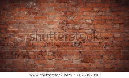 Brun vintage construction fond brique Photo stock © vichie81