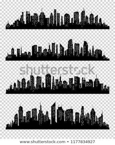 buldózer · szalag · terv · vektor · város · épület - stock fotó © designer_things