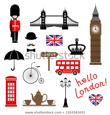 London city. Collection of themed vector clip-art. Stock photo © jara3000