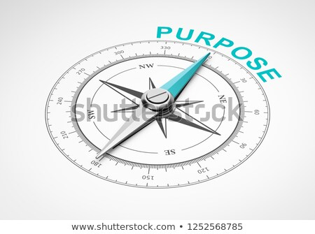 Compass on White Background, Purpose Concept Stock photo © make