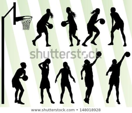 illustrazione · bianco · design · fitness · sport - foto d'archivio © bluering