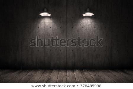 Starych grunge pokój stali piętrze Zdjęcia stock © inxti