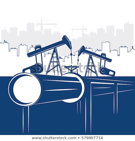 ベクトル · 油 · ガス · エネルギー · ロゴ · 火災 - ストックフォト © glasaigh