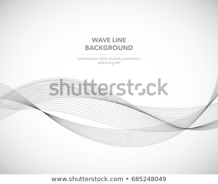 abstract contour style lines background Stock photo © SArts
