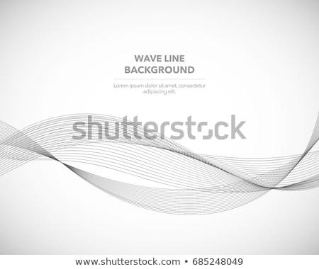 Abstrakten Kontur Stil Zeilen Karte Kunst Stock foto © SArts