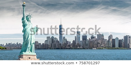 Statue liberté New York New York City eau bleu Photo stock © vichie81