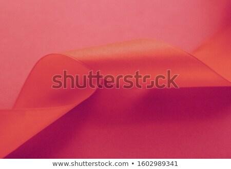 抽象的な シルク リボン バラ 排他的な ストックフォト © Anneleven