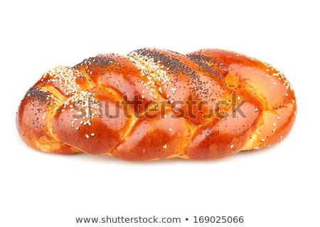Yahudilik ekmek yalıtılmış din kutlama Stok fotoğraf © joannawnuk