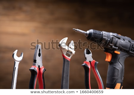 Tools including Pliers, Monkey Spanner And Wrench Stock photo © AndreyPopov
