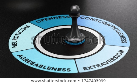 Big Five Personality Traits. Psychology Concept. Stock photo © olivier_le_moal