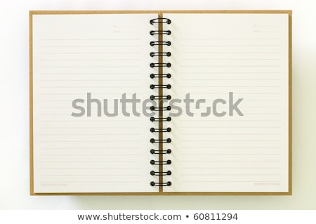 Two open notebook Stock photo © anyunoff