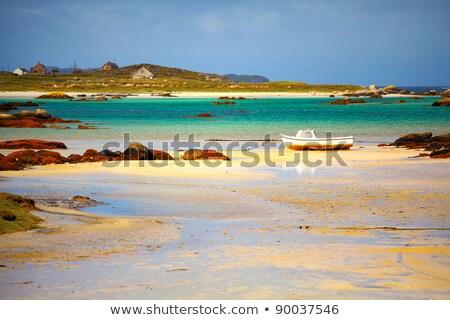 Cais paisagem verão mar cor ambiente Foto stock © igabriela