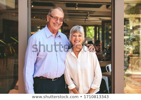 Senior business couple Stock photo © photography33