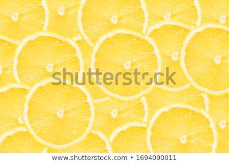 Tranches dynamique citron horizons une au-dessus Photo stock © mnsanthoshkumar