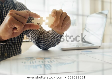 Two businessmen problem solving Stock photo © photography33