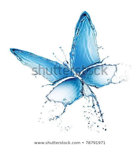 Butterfly in a drop of water Stock photo © vlad_star