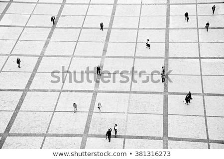 Kyiv city - aerial view. Stock photo © Leonardi