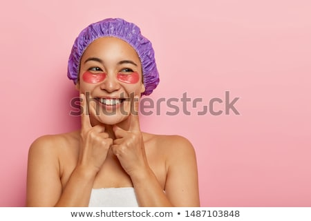 Headshot of a pretty brunette with bare shoulders Stock photo © photography33