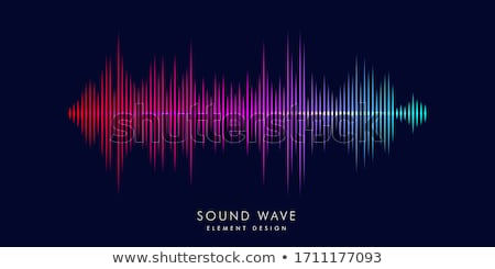 Stock photo: Sound Graphic