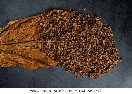 Cut табак аннотация полный кадр Сток-фото © prill