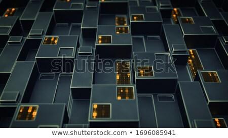 Abstrato código números cartas projeto fundo Foto stock © a2bb5s