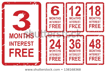 3 Months Interest Free Stock photo © THP