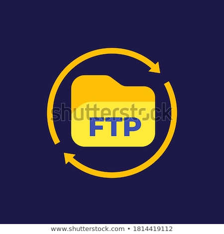 Ftp сервер компьютер мира технологий сеть Сток-фото © 4designersart