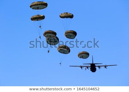 Paratrooper Stock photo © hraska