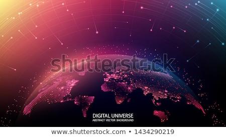 Abstract wereld objecten Stockfoto © radivoje