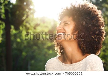 женщину Постоянный искусства Живопись женщины Сток-фото © zzve