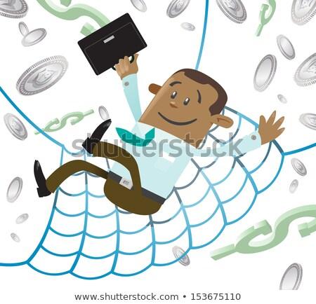 Financieros seguridad neto dólar equipo personas Foto stock © iqoncept