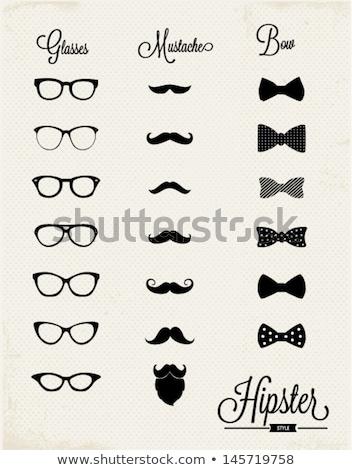 Eye glasses and bow tie Stock photo © stevanovicigor
