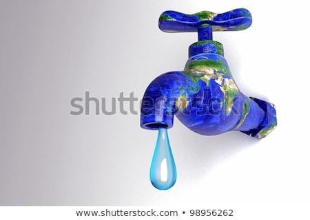 酸素 · 水 · 泡 · 青 · デザイン · 美 - ストックフォト © tolokonov
