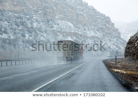 15 eyaletler arası yol Nevada ABD Stok fotoğraf © lunamarina