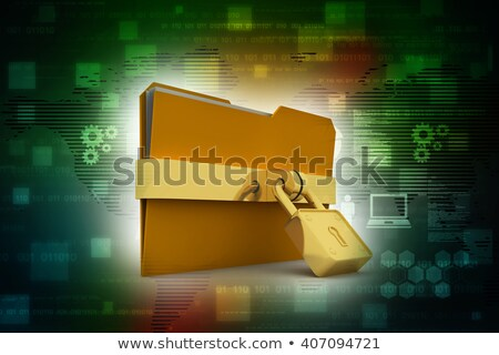 Data Backup Concept on Striped Background. Stock photo © tashatuvango