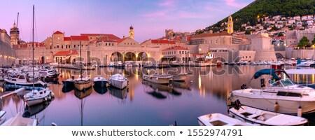 Hırvatistan liman liman modern güneş Stok fotoğraf © Johny87