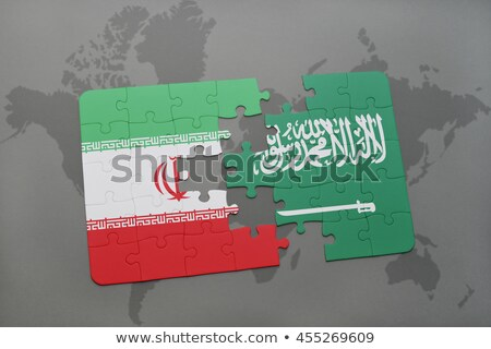 iranian flag in puzzle stock photo © istanbul2009