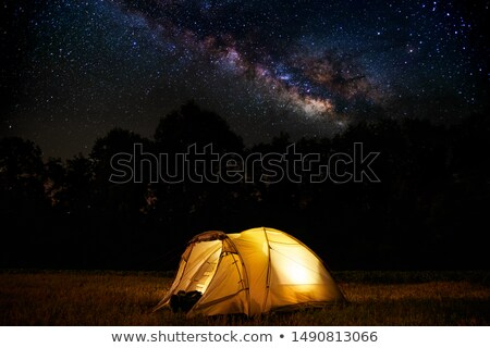 Campground at the black forest Stock photo © manfredxy