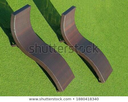 Stoel park boom golf Stockfoto © Yongkiet
