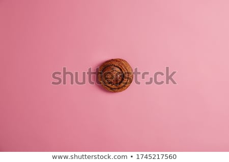 canela · pormenor · raso · pão · café · da · manhã - foto stock © klinker