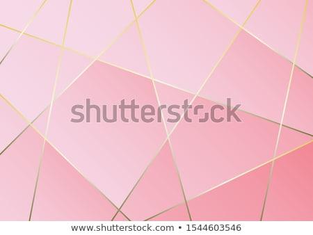 3D ピンク パターン 抽象的な 光 デザイン ストックフォト © klss