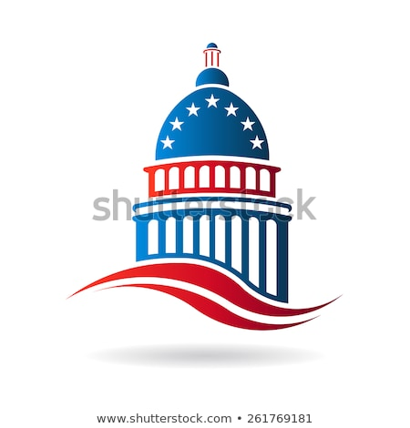 Capitol building in red white and blue stock photo © joseph_arce